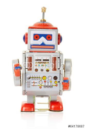 Un robot vintage