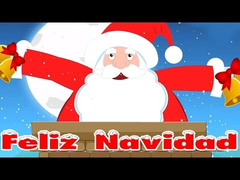 Quien viene bajando es Santa | canciones de Navidad en español para niños - YouTube