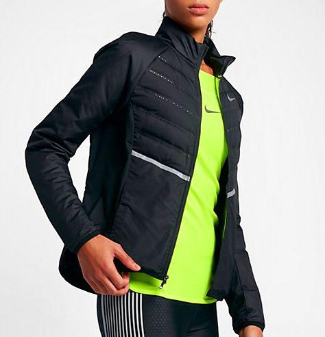 wishlist de noel pour les sportives veste running hiver Nike femme