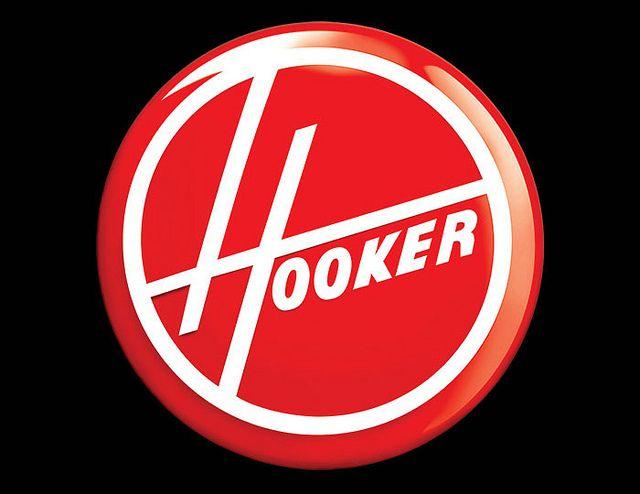Hooker T-shirt Parody Logo Tees available at www.penaltees.com