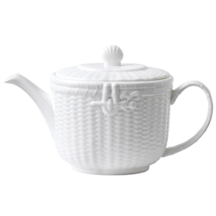 Wedgewood Nantucket Basket Tea Pot