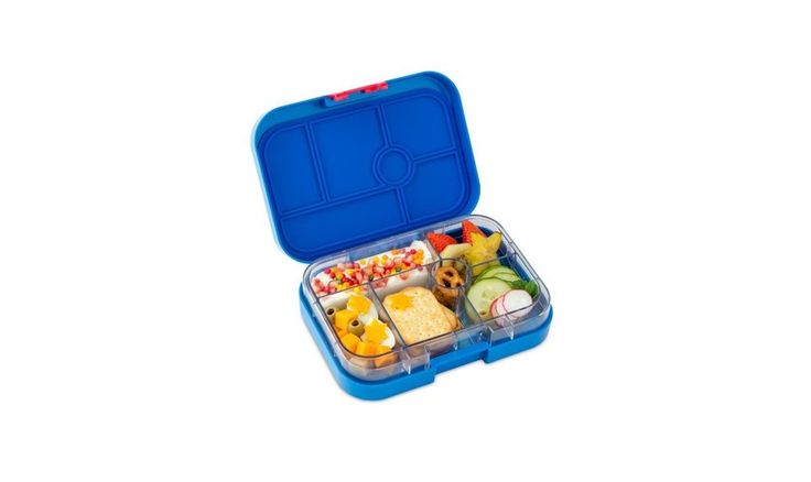 Yumbox Leakproof Lunchbox, 6 Compartment- Baja Blue