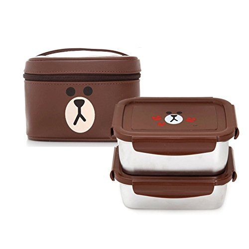 LINE FRIENDS BROWN LUNCH BOX ( SQUARE ) Line Friends https://www.amazon.com/dp/B01IEQ3FMG/ref=cm_sw_r_pi_dp_x_ifdfybMQHK35G