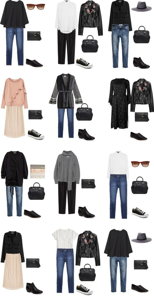Packing List: 14 days in Tokyo, Japan, in Februar 2017- Outfit Options 2. livelovesara