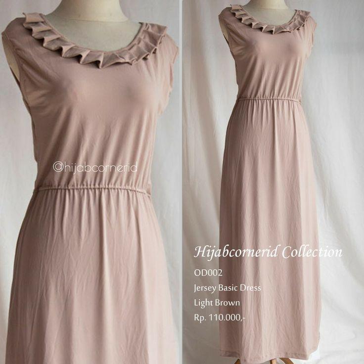 Basic dress only for 110.000 Rupiah go visit http://hijabcornerid.com for detail
