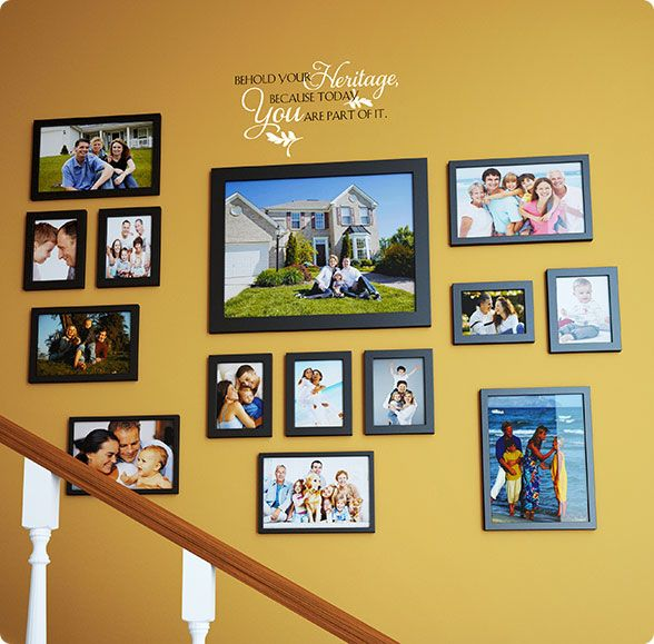 632 best Family Wall Ideas images on Pinterest | Wooden signs, For ...