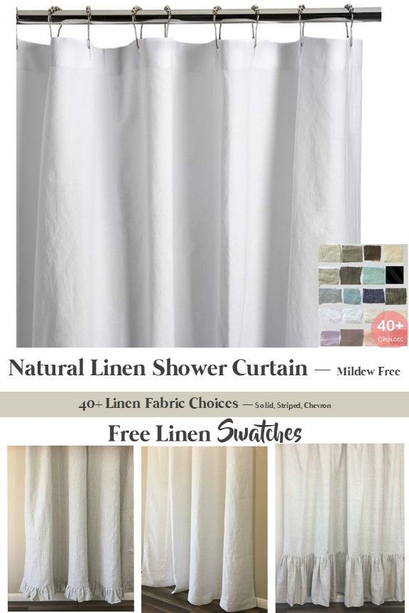Shower Curtain Extra Long Extra Wide Custom Size Available In