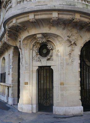 Immeuble du 23, avenue de Messine Paris 8e, Jules Lavirotte