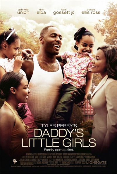 Daddy's Little Girls (2007) A mechanic enlists the help of a successful attorney (Union) while trying to wrest custody of his three daughters from his ex-wife and her larcenous boy friend. Along the way, the working relationship between the blue collar dad and his uptown attorney grows into something more. This is a touching story of two people trying to find love, a man struggling to protect his children from abuse. Gabrielle Union, Idris Elba, Tracee Ellis Ross...TS Christian