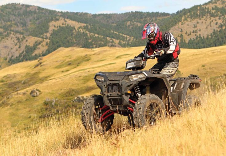 The 2017 Polaris lineup is a mix of both new technology and model upgrades across the board. One of our favorites is new Sportsman XP 1000. It's got enormous power, supple suspension, and all-new body styling. You can never go wrong with a Sportsman
