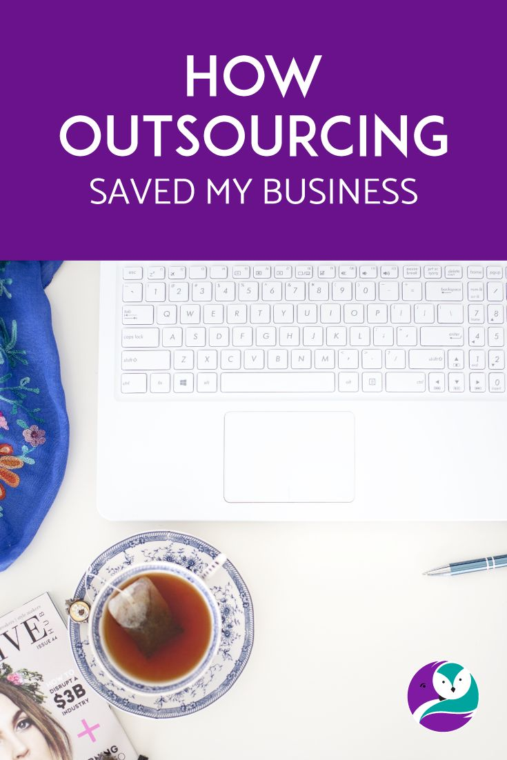 Today on the blog, I talk about why I outsourced and how it has given me more freedom so that I don't have to perform every single task involved in running a business.