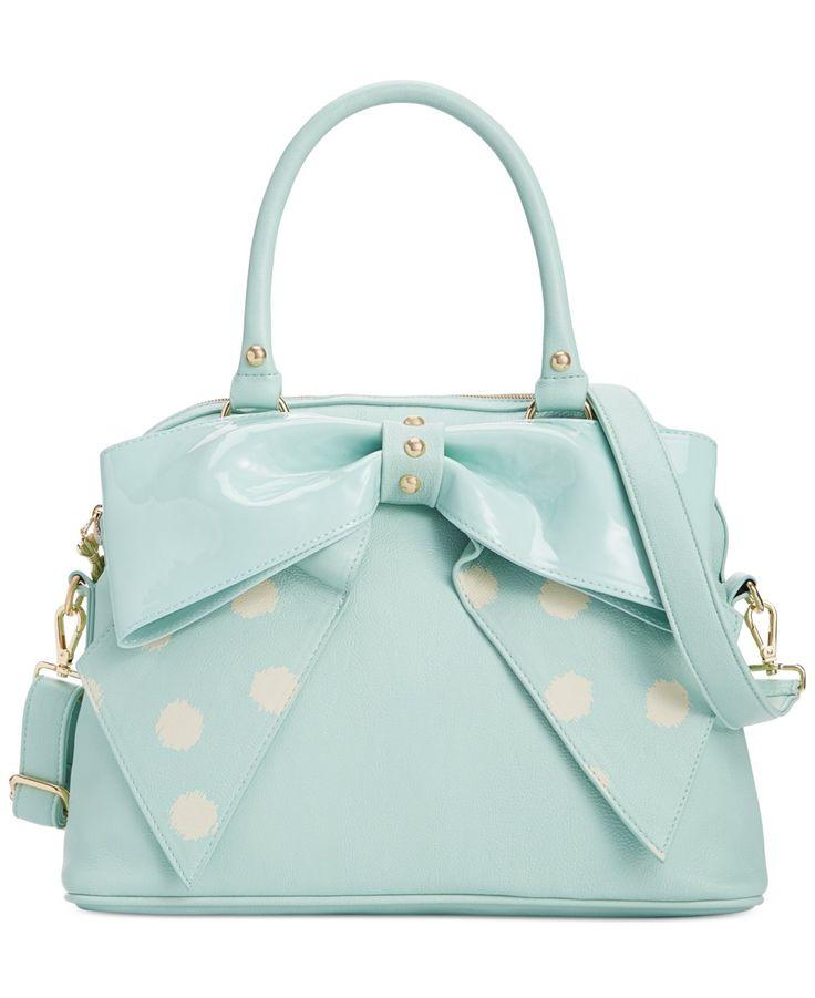 Betsey Johnson Macy's Exclusive Dome Satchel - Impulse Contemporary Brands - Handbags & Accessories - Macy's