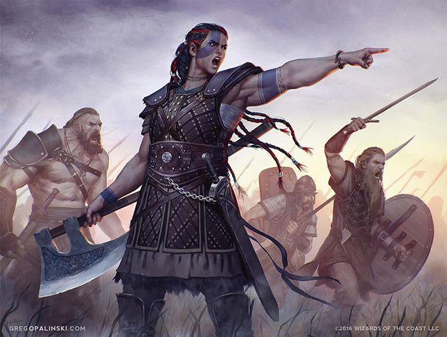By Greg Opalinski #vikings #valhalla #ragnarok #viking #ragnarlothbrok #ragnar #viking #north #woman #fight #warrior