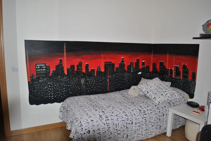Mural ciudad.