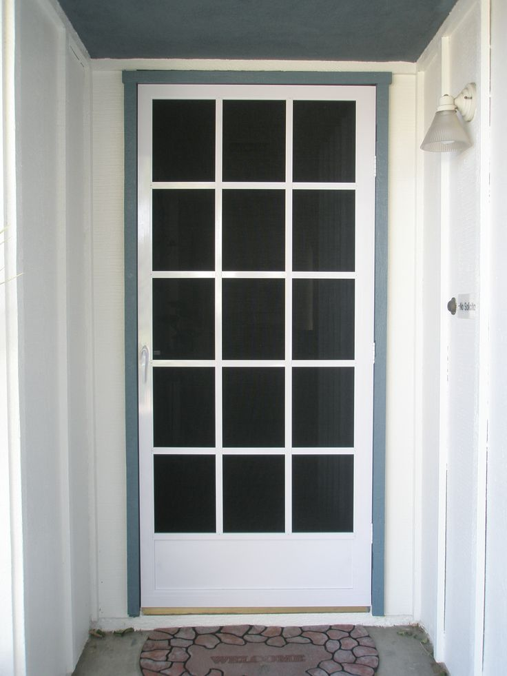 8 best images about screen doors on pinterest home for Screen doors for front door