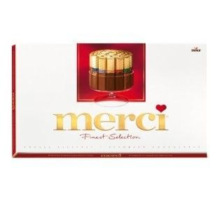 Merci Chocolate Bar Assortment 400g (3-pack) Great gift for chocolate lovers!