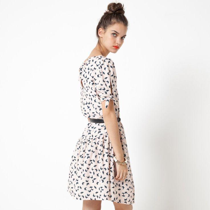 Kleid mit schmetterlingen Mademoiselle R | La Redoute