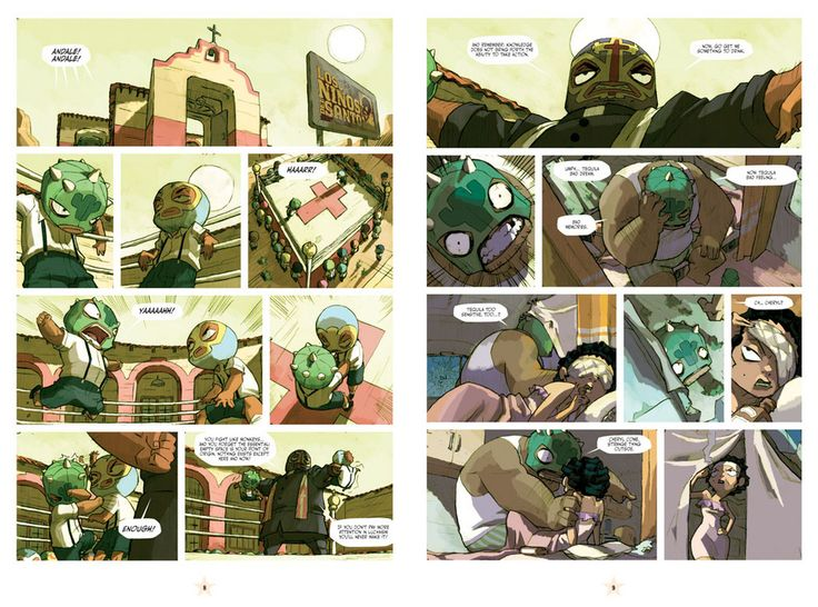 lucha libre comics | Just in case you haven't been following the Lucha Libre Comic here's ...