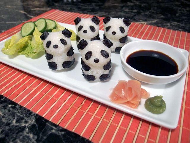 PANDAS! 10 ridiculously cute ways to make sushi :: Cosmopolitan UK