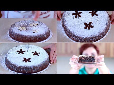 TORTA CAPRESE di Benedetta Ricetta Facile Senza Glutine - Gluten Free Caprese Cake Easy Recipe - YouTube