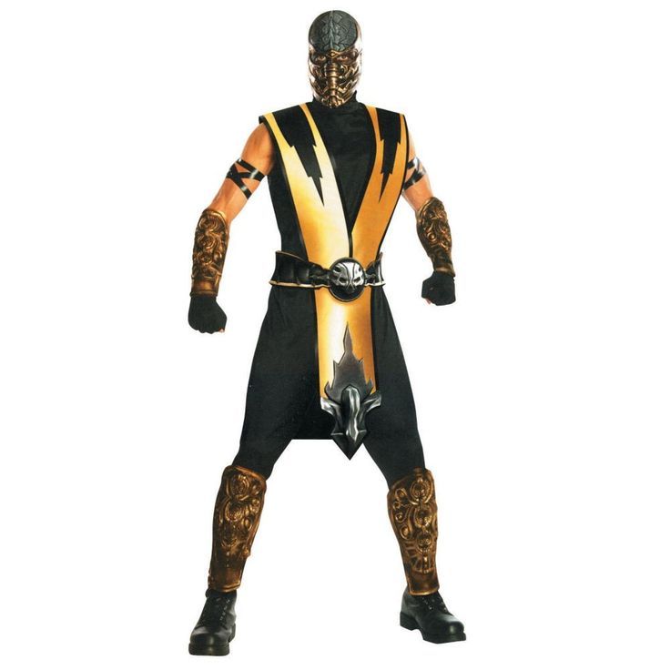 Scorpion Halloween Costume for Men - One Size Fits All