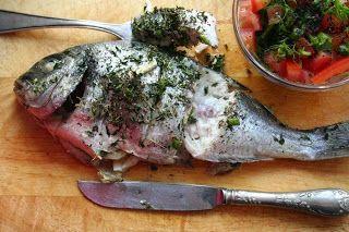 Dorada With Fennel And Tomato Salad Garnish Recipe ~ Food Network Recipes