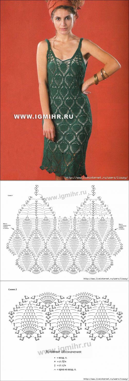 ¡Magnífico azhury! El vestido de esmeralda. El gancho