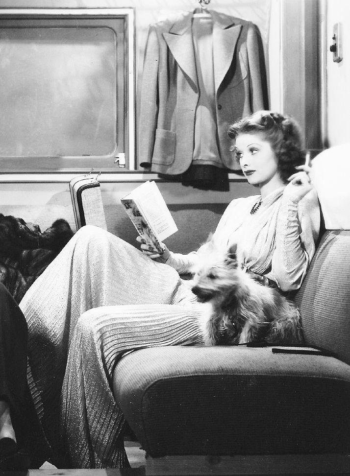 "heckyeahlucilleballilovelucy:  Lucille Ball in ""Annabel Takes A Tour"" (1938)"