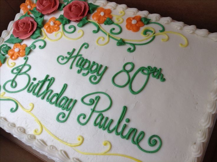 985 best Decorated sheet cake images on Pinterest ...