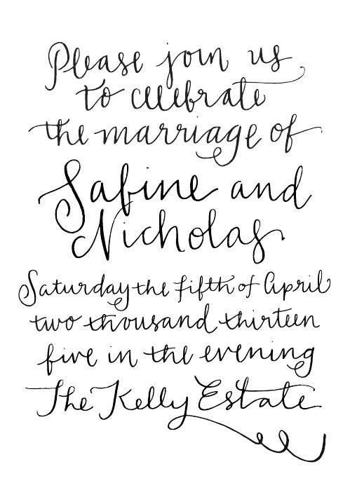 58 best Wedding Invitations (DONE) images on Pinterest | Marriage ...