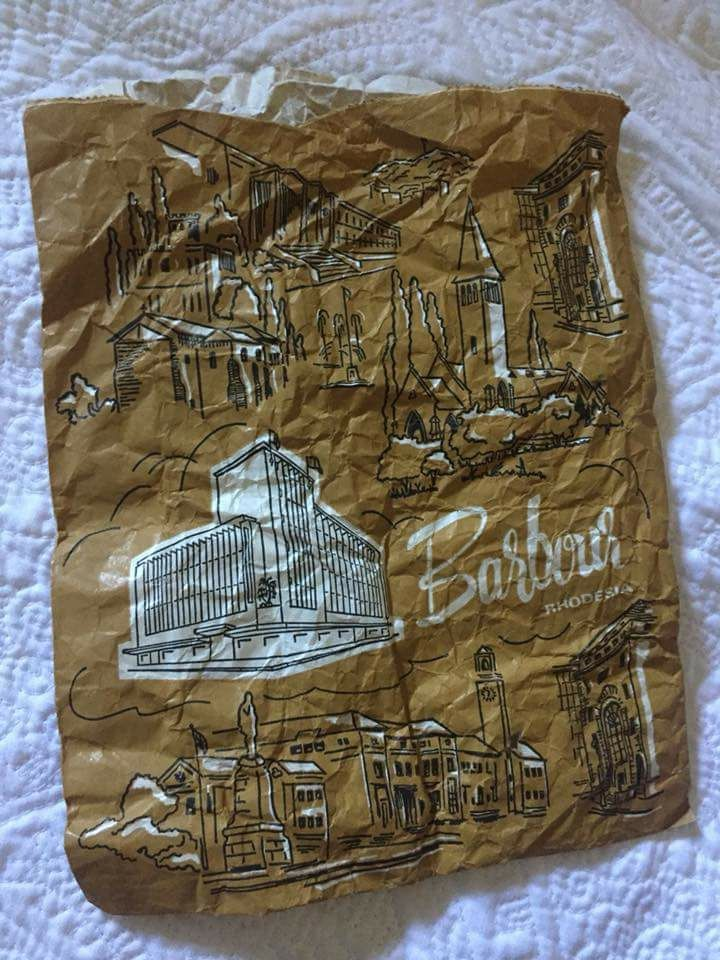 Barbours bag - credit not known