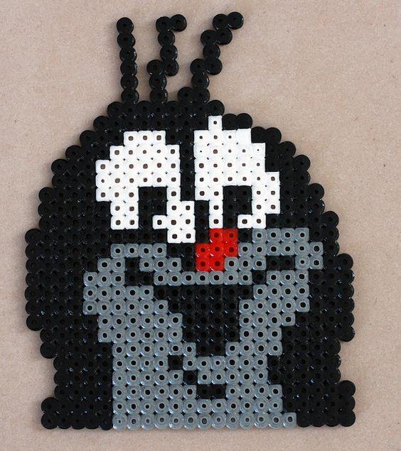 The Mole - Der kleine Maulwurf - Krtek hama beads: