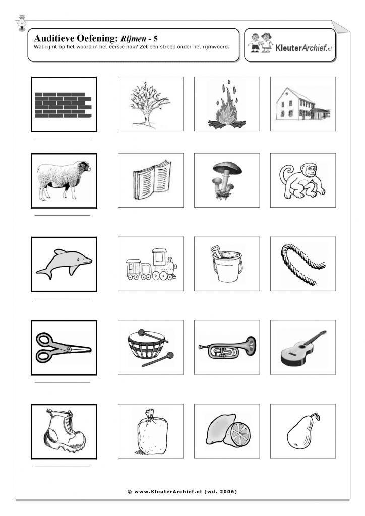 auditieve analyse oefeningen groep 3 - Google zoeken