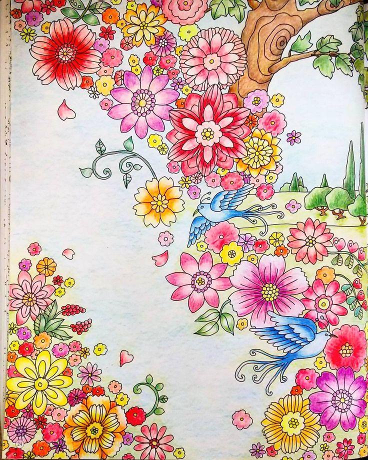 連投 #大人の塗り絵 #旅するディズニー塗り絵 #塗り絵 #コロリアージュ #ディズニー #眠れる森の美女 #オーロラ姫 #ストーカー王子 #coloriage #colorful #color #coloring #colorbook