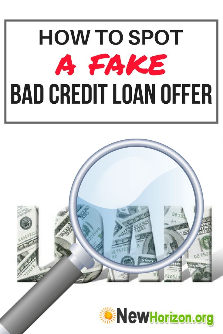 The Truth About Bad Credit Loans No Credit Loans Bad Credit Loans For Bad Credit
