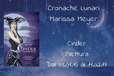 Le mie ossessioni librose: Gruppo di lettura #1 Cinder - Cronache lunari