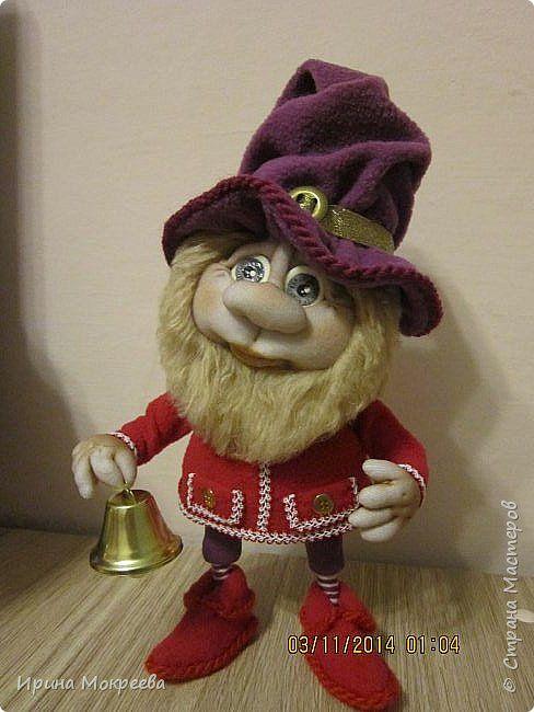 Куклы Новый год Шитьё Рождественские гномы Капрон Мех Сутаж тесьма шнур Ткань фото 2