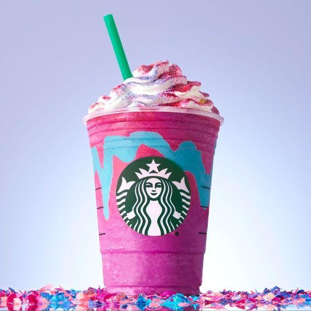 Frappuccino unicórnio do Starbucks (Foto: Divulgação)