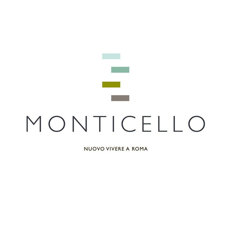 "Hangar Design Group was entrusted by the real estate company Europa Risorse to conceive a creative concept for the exclusive project named ""Monticello"". Hangar developed the brand identity together with printed tools like their elegant brochure and designed a new logo."