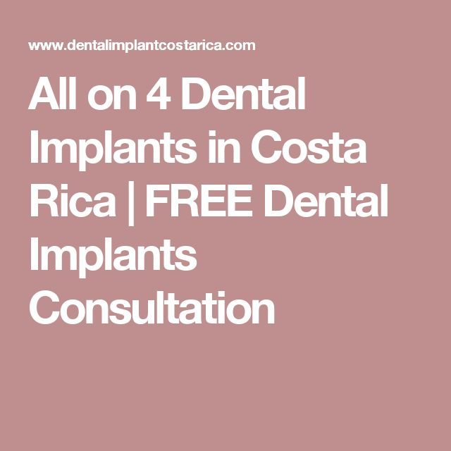 All on 4 Dental Implants in Costa Rica   FREE Dental Implants Consultation