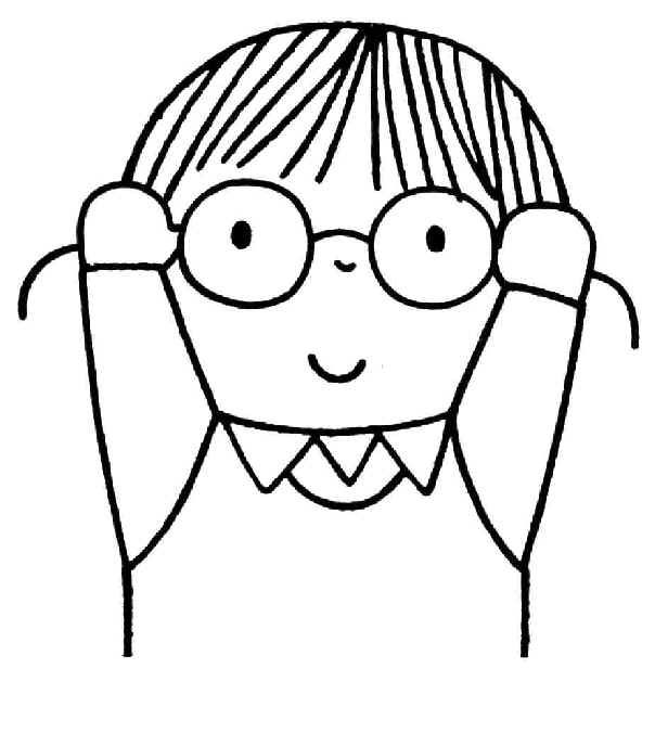 Ik draag een bril