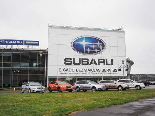 Subaru Motors не будет расширять линейку автомобилей в России