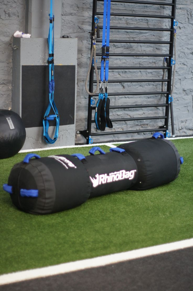 New improved MoveStrong Rhino Bag. Functional fitness, odd object,  sand bag, strength training workouts. Lifts, carry, tire flip, drag and more with the military grade material bag built in USA