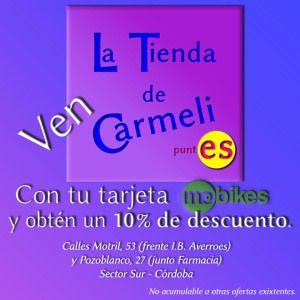 La Tienda de Carmeli, Córdoba, Mercería y paquetería