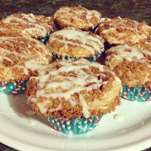 Muffins de Strudel de Manzana y Canela