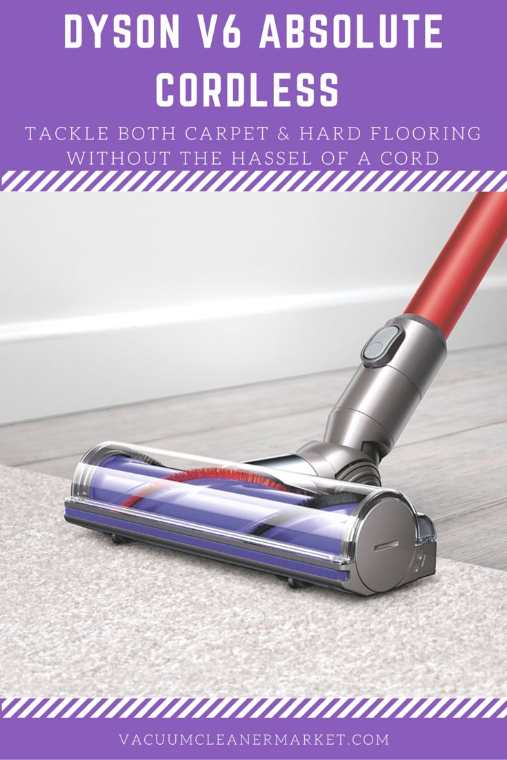 Dyson vacuum cleaners at bed bath and beyond - The Dyson V6 Absolute Cordless Vacuum Cleaner Is The Best Cordless Money Can Buy