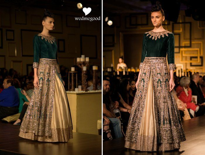 Manish Malhotra at India Couture Week 2014: Bridal Collection titled Portraits !