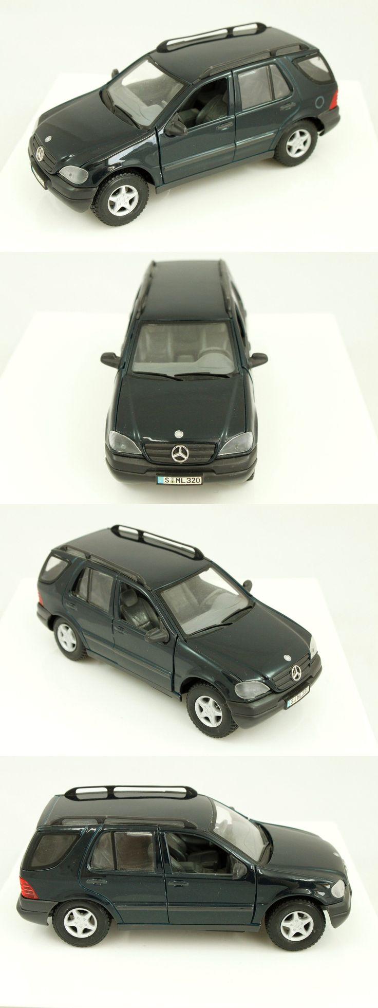 Suvs maisto mercedes benz ml320 black model car suv 1 24 diecast buy it now only 11 95 suvs pinterest models mercedes benz and black models