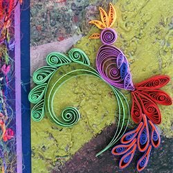Inspirational quilling by Ann Martin of All Things Paper.