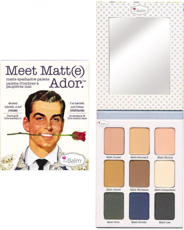 Meet Matt (e ) Ador - Παλέτα Σκιών by The Balm